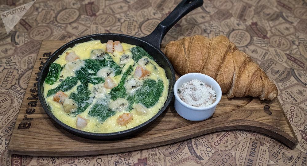 Desayuno continental París en el restaurante Breakfastería