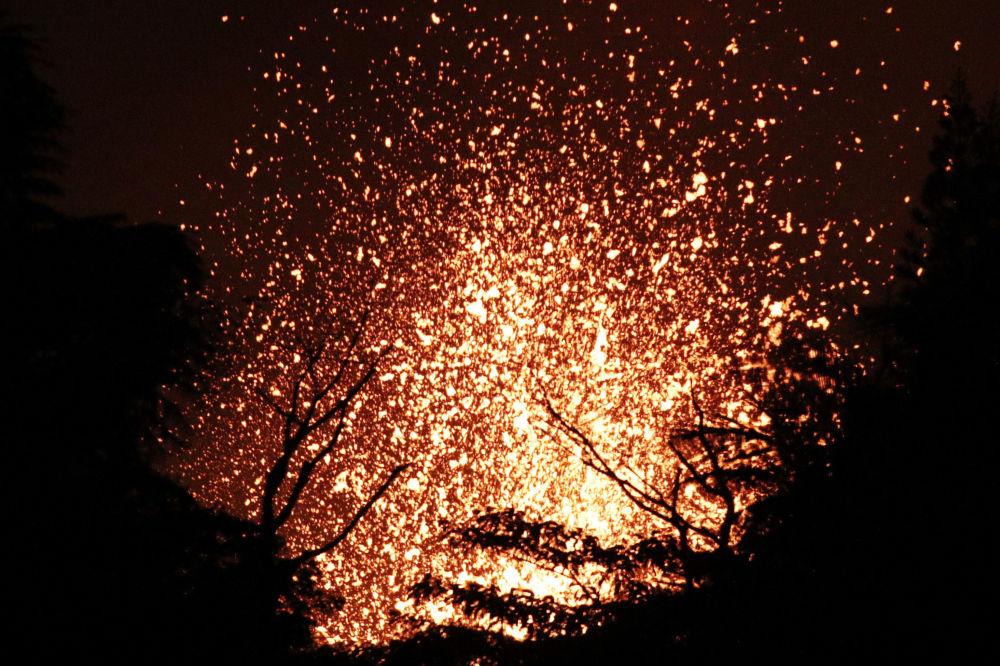 El volcán Kilauea convierte el paraíso de Hawái en un infierno
