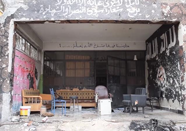 Descubren una 'fábrica de jóvenes terroristas' en una escuela de Siria