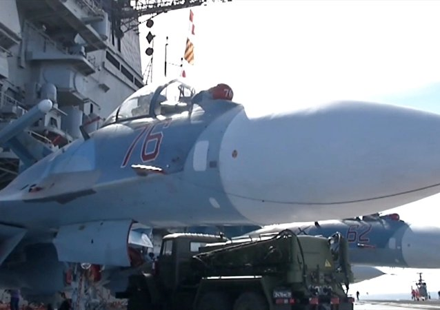 Crucero portaviones pesado Almirante Kuznetsov