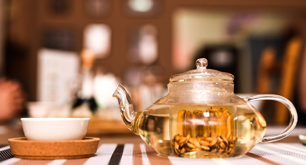 Té tradicional en Cooksey house bar
