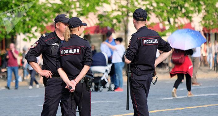Agentes de policía en Moscú (archivo)