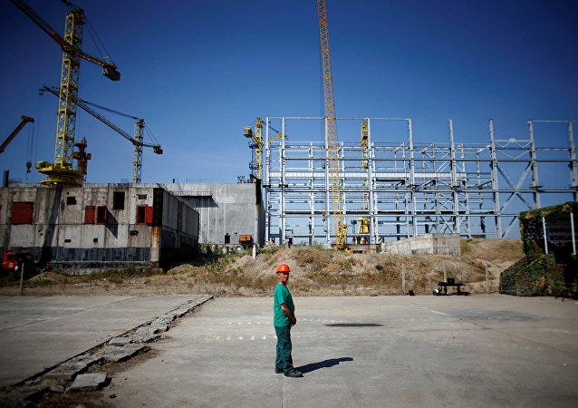 Construcción de la central nuclear Belene en Bulgaria