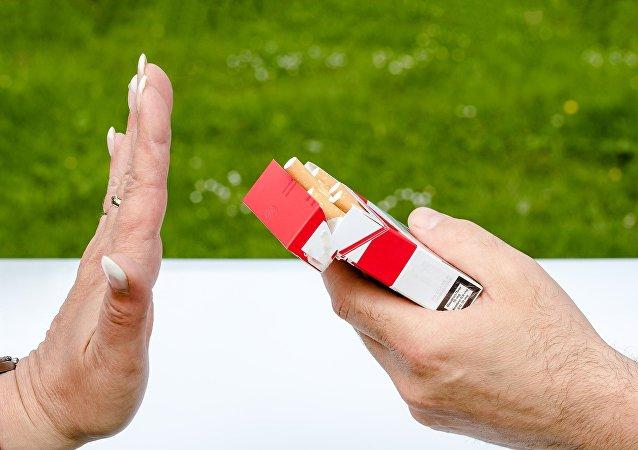 Lucha contra el tabaco