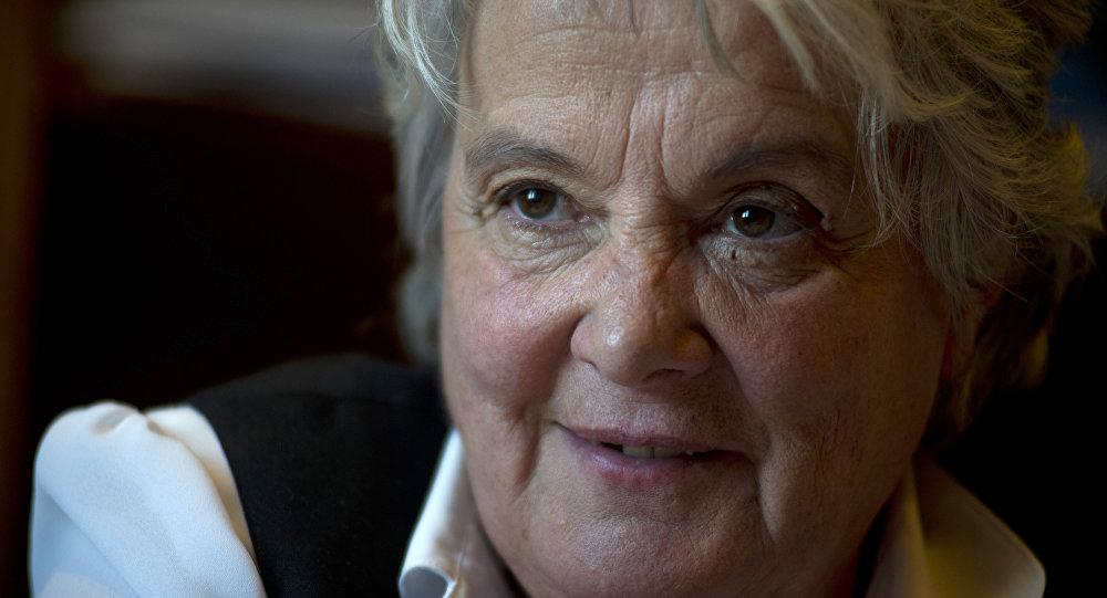 Lucía Topolansky, vicepresidenta de Uruguay.