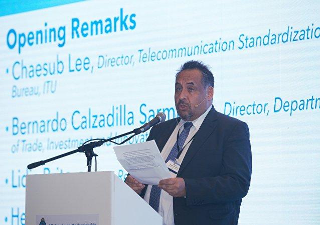 Bernardo Calzadilla, director del Departamento de Innovación de Naciones Unidas para el Desarrollo Industrial