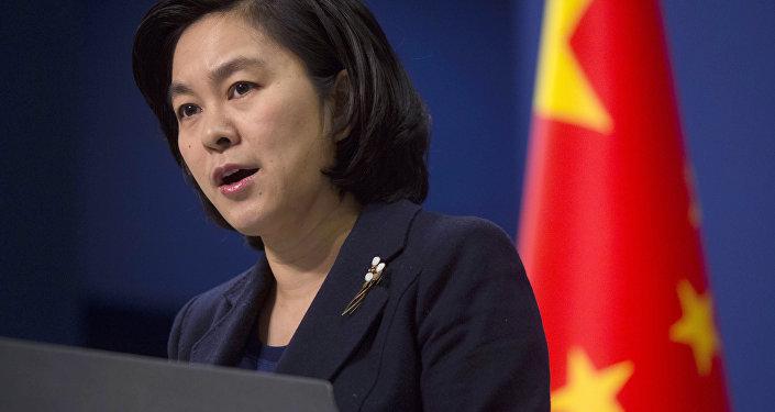 Hua Chunying, portavoz del Ministerio chino de Asuntos Exteriores (archivo)