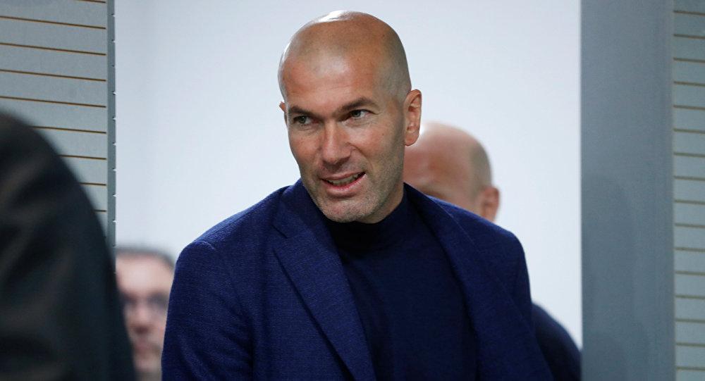 Zidane renunció como entrenador del Real Madrid