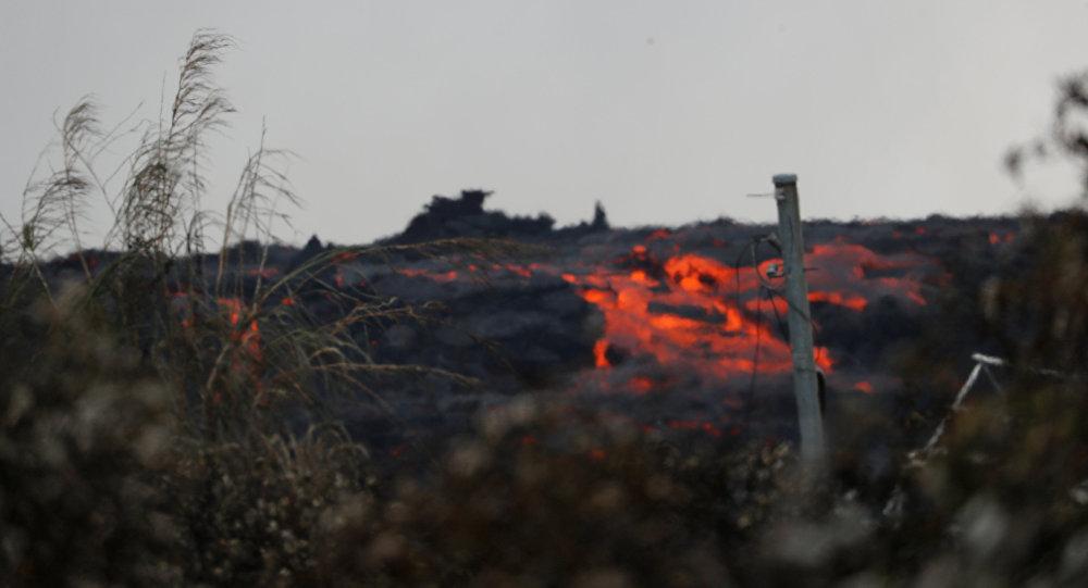 Así consume la lava vecindarios enteros en Hawaii