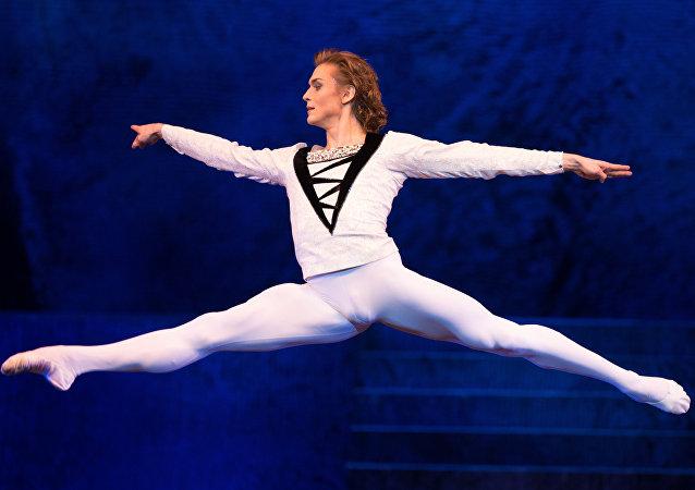 El primer bailarín del Ballet del Teatro Bolshói, Denis Rodkin