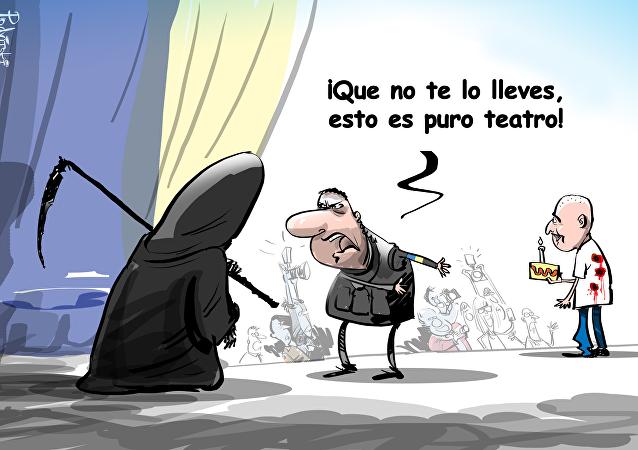 La banalización de la muerte o los trucos bajo la cúpula del circo ucraniano