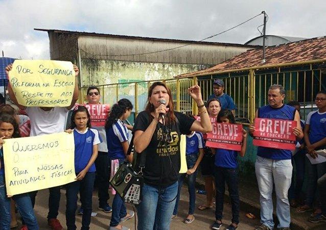Huelga docente en el estado brasileño de Pará