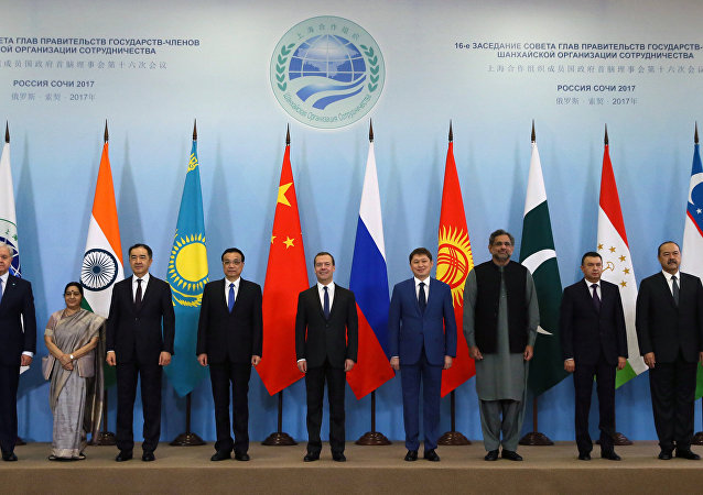 Representantes de los países miembros de la OCS (archivo)