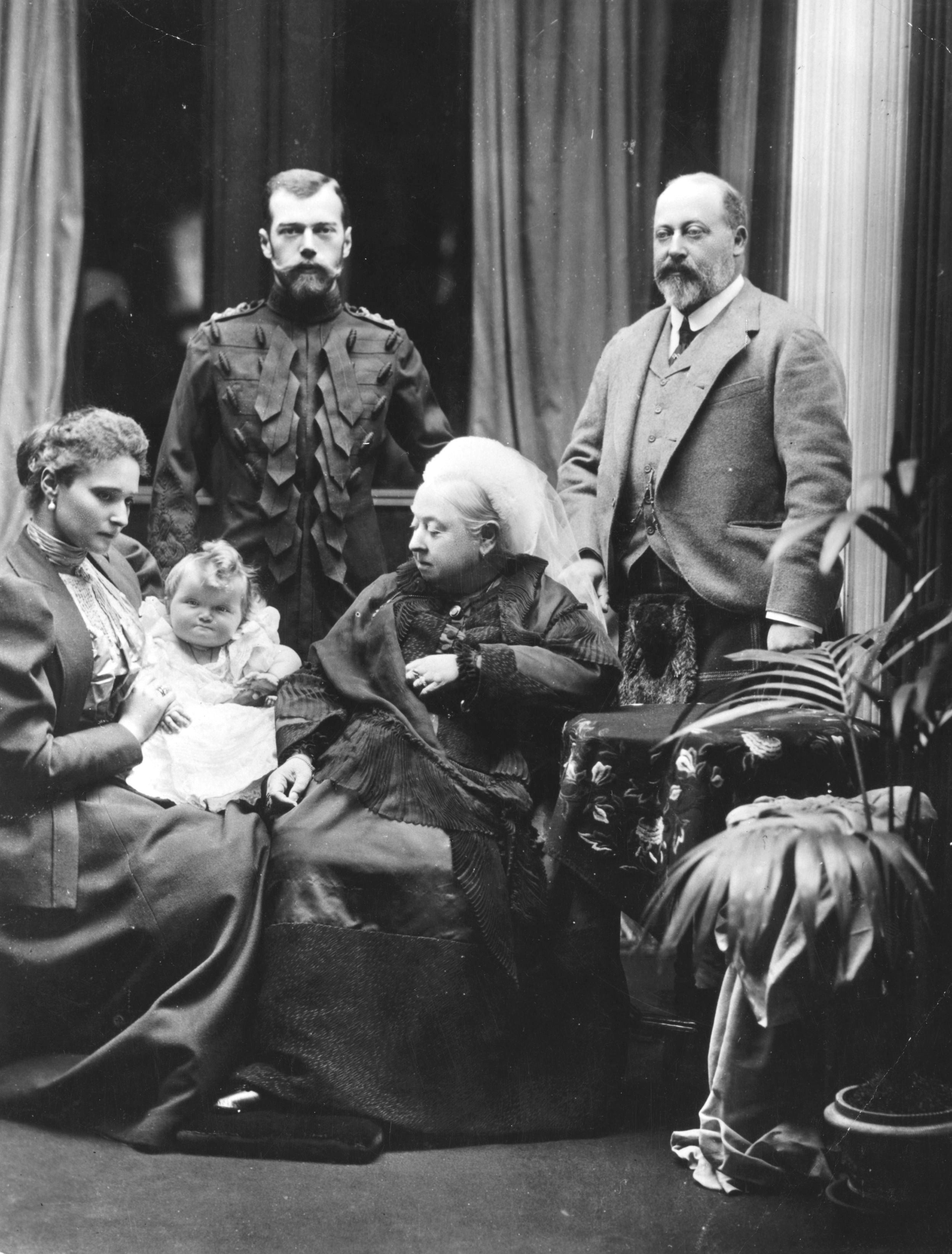 El zar ruso Nicolás II, en 1896