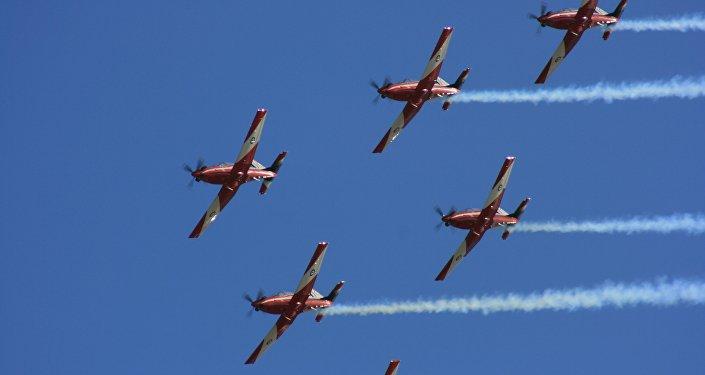 Aviones de la Real Fuerza Aérea Australiana, foto de archivo