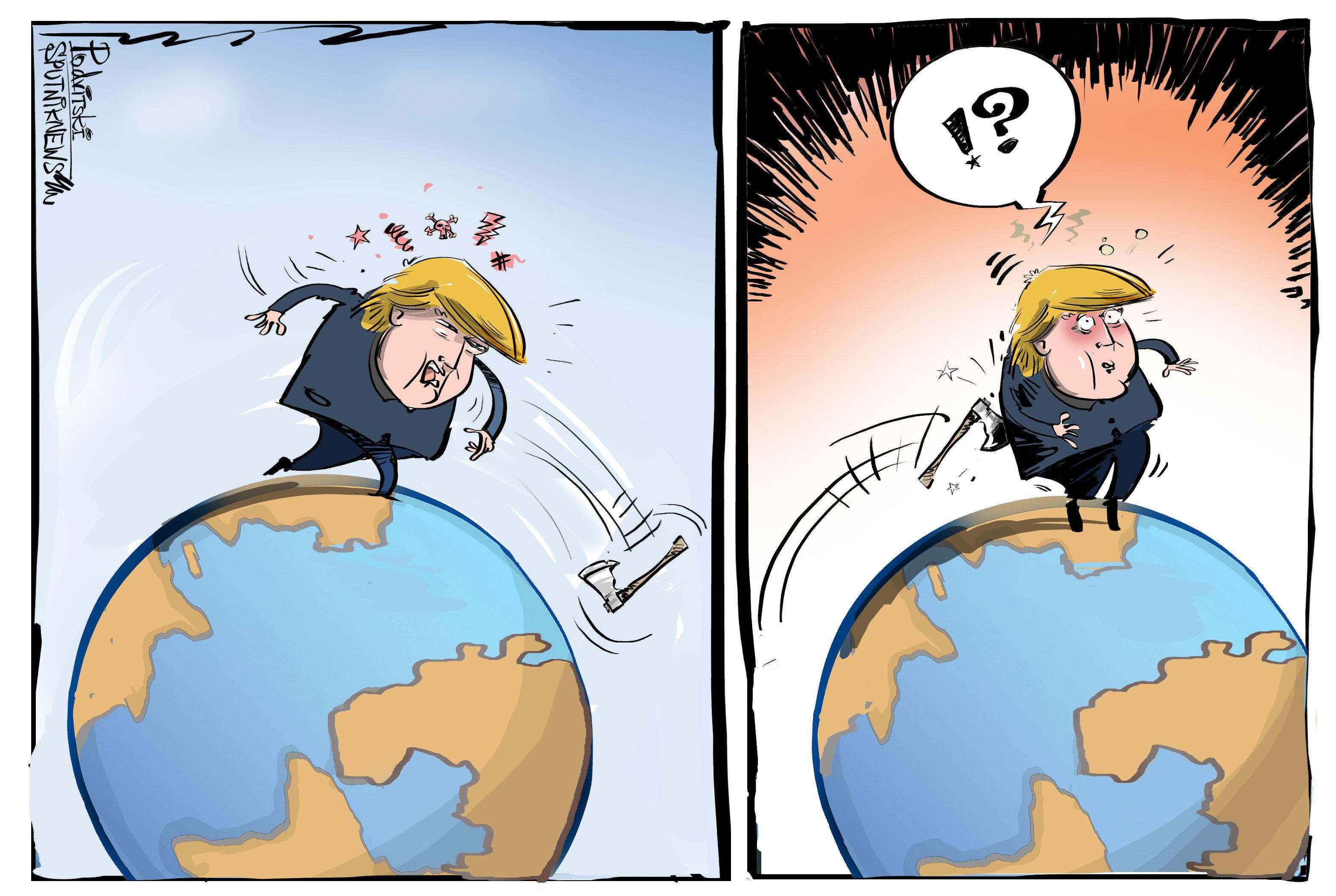 Trump se olvida del efecto bumerán