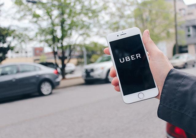 Una app de Uber