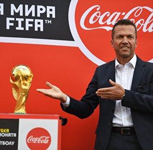 El trofeo del Mundial llega a Moscú