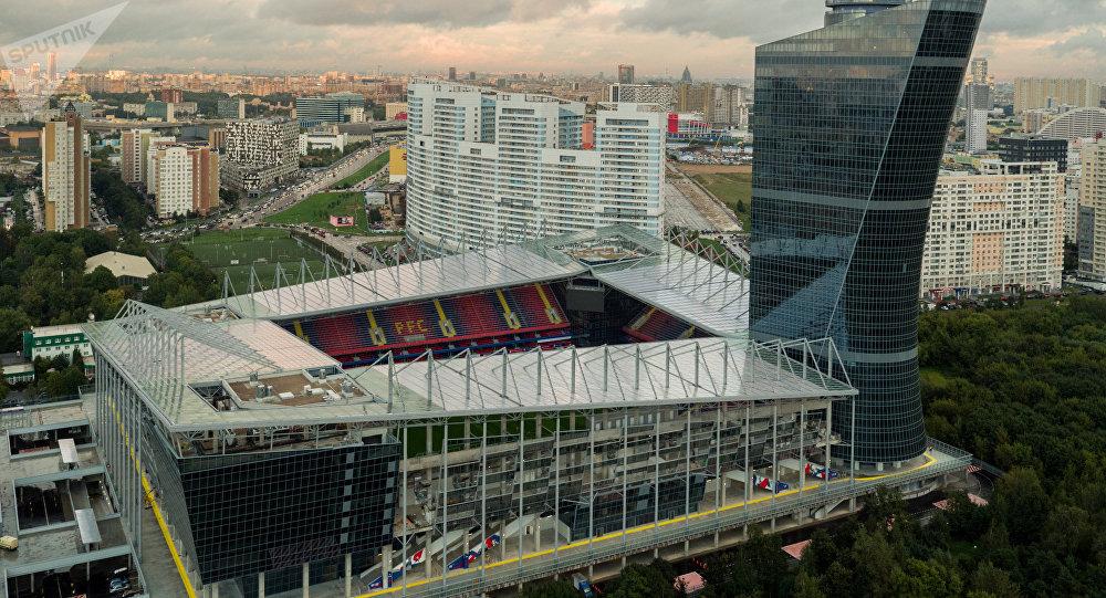 El estadio Arena CSKA en Moscú