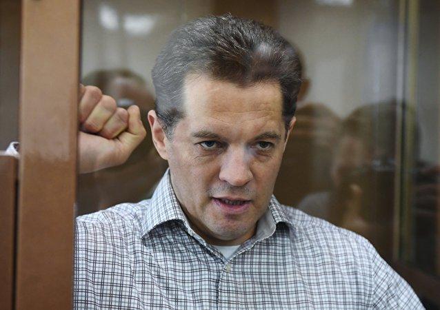Román Suschenko, ciudadano ucraniano condenarlo por un tribunal ruso a 12 años de prisión por espionaje