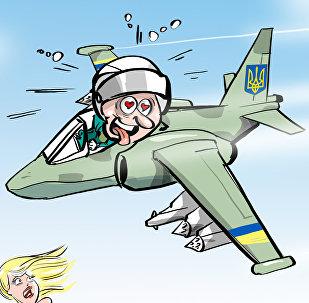 La razón detrás del vuelo rasante de un Su-25 ucraniano sobre una playa