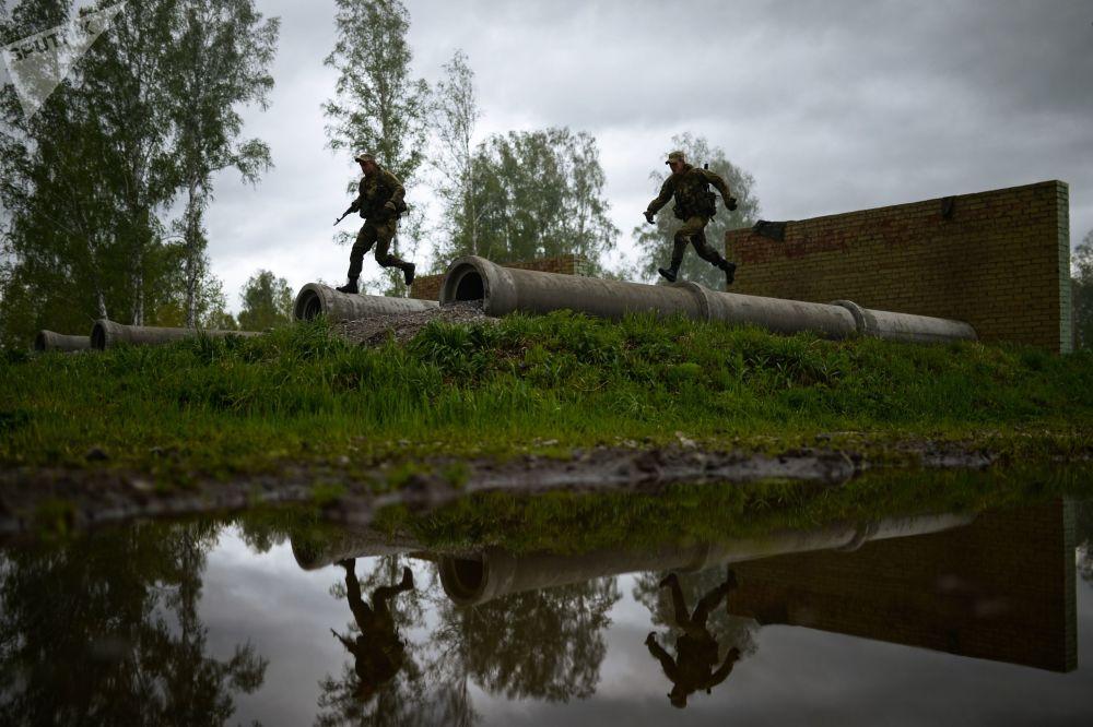 Los mejores de los mejores: concurso de la inteligencia militar rusa en Siberia