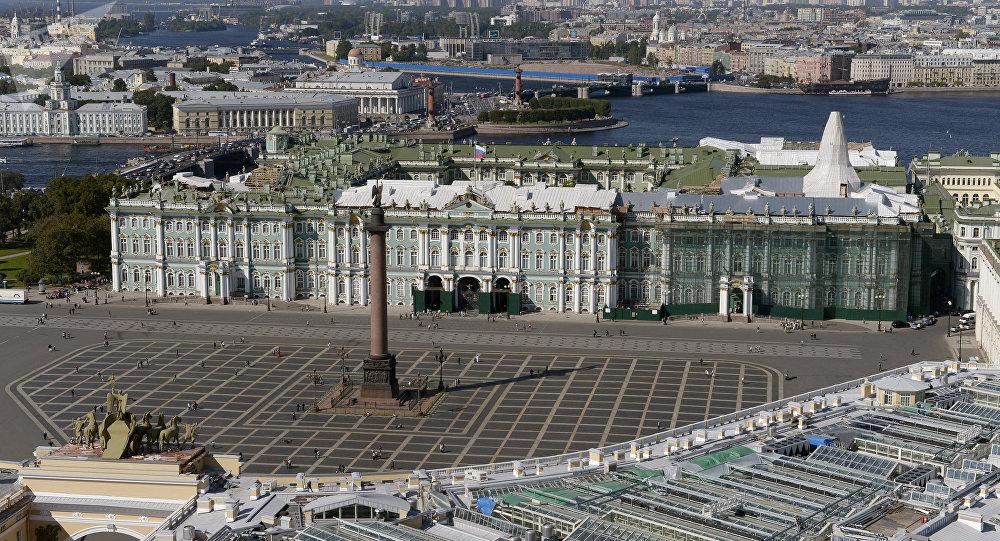 Ciudad rusa de San Petersburgo