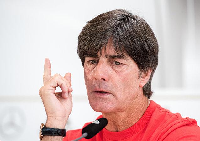 Joachim Loew, director técnico de Alemania