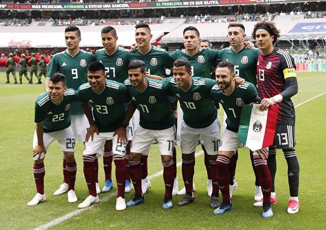 La selección nacional mexicana