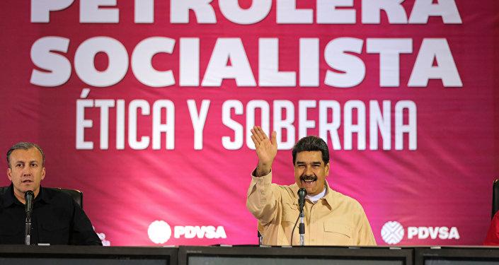 Nicolás Maduro el presidente de Venezuela