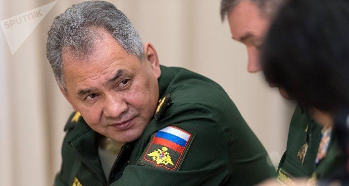 El ministro de Defensa ruso, Serguéi Shoigú