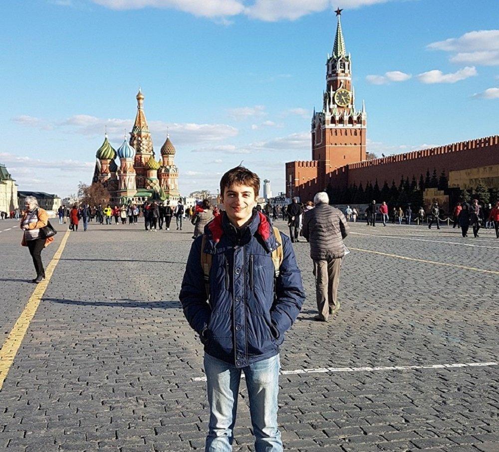 Iker Montero de Pedro, estudiante español de la maestría internacional de MEPhI