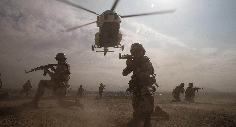 Ejercicios militares en Irán (Archivo)