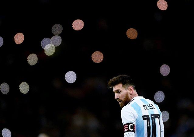 Lionel Messi, jugador de la selección argentina de fútbol (archivo)