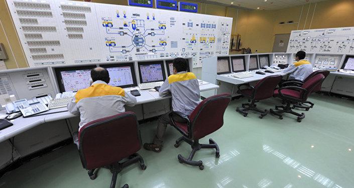 Una planta nuclear iraní, foto de archivo