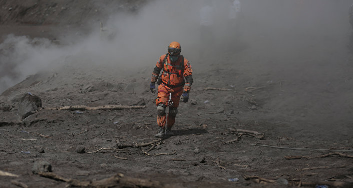 Las consequencias de la erupción del volcán de Fuego en Guatemala
