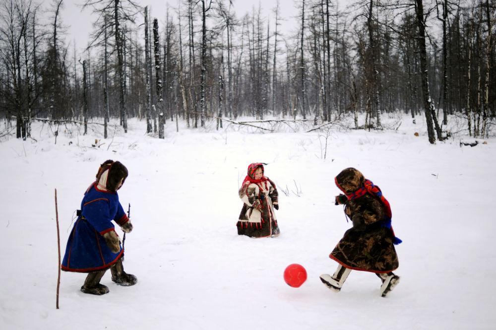 El espíritu del Mundial en el Extremo Norte de Rusia