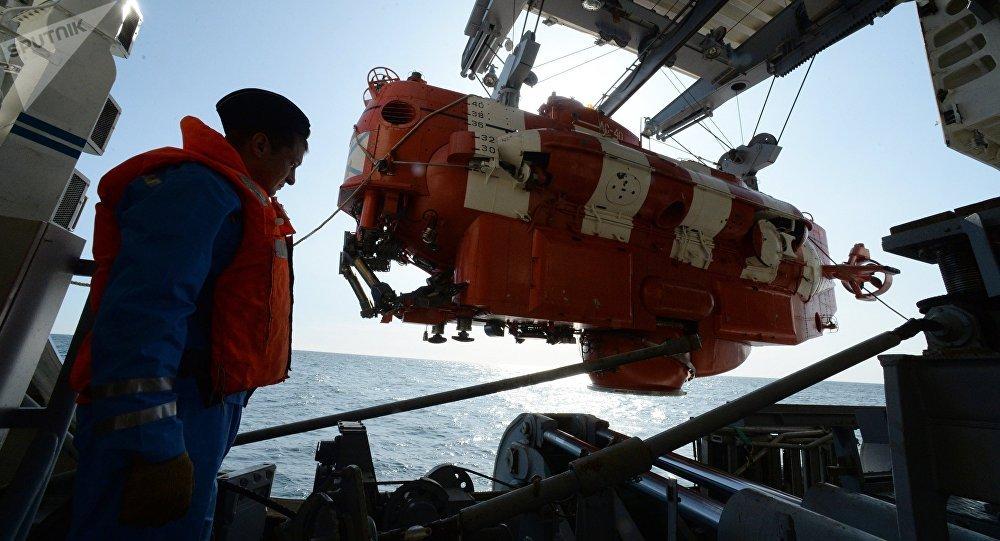 El aparato submarino Bester
