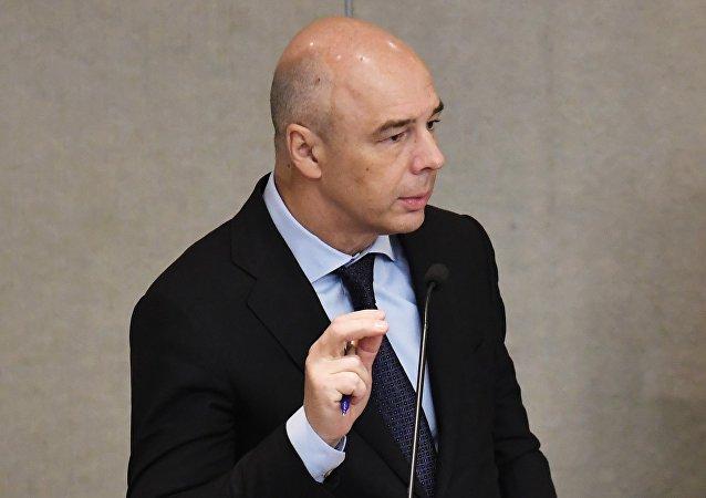 Antón Siluánov, primer vicepresidente del Gobierno y ministro de Finanzas de Rusia