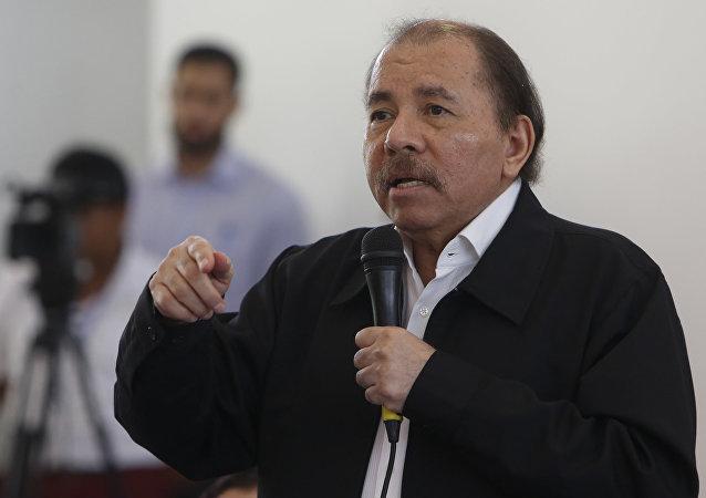 Daniel Ortega, presidente de Nicaragua (archivo)
