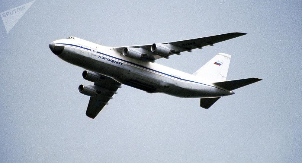Avión de transporte An-124 Ruslan
