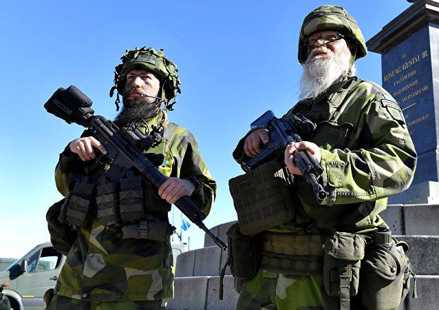 Reservistas suecos