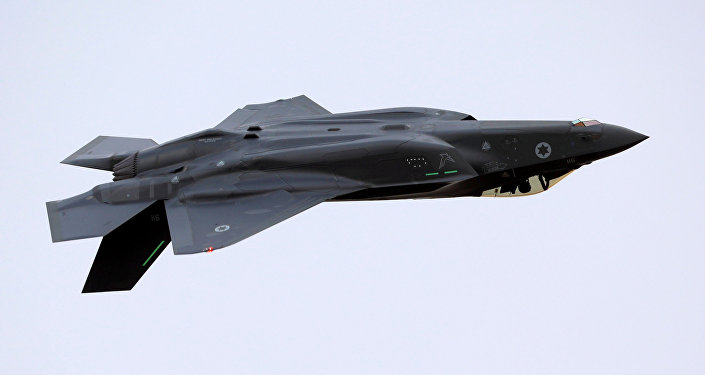 Un F-35, archivo