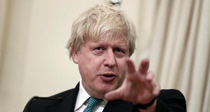 Boris Johnson, excanciller británico
