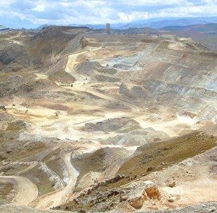 Mina de oro en Perú (archivo)