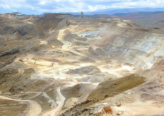 Una mina en Perú (archivo)