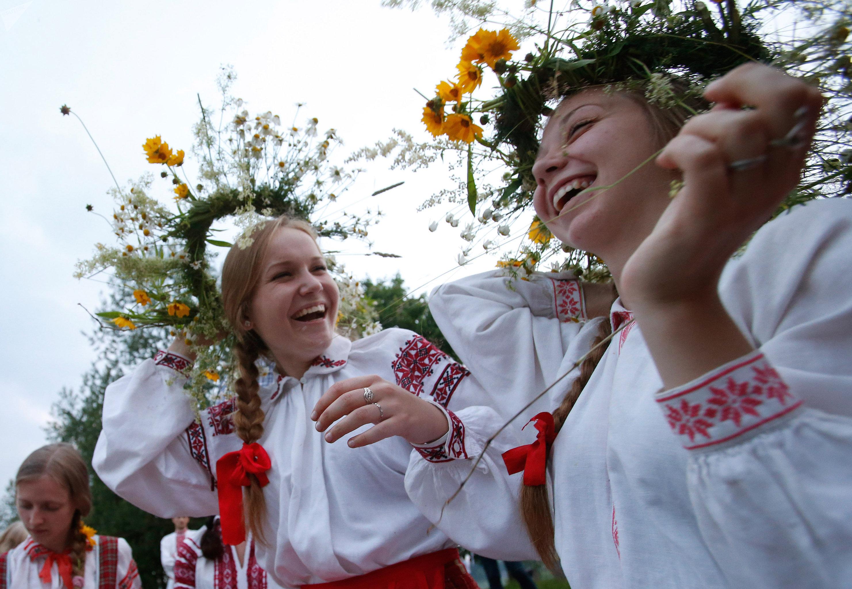 La celebración del solsticio de verano en Bielorrusia