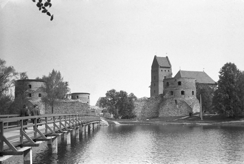 El castillo de Trakai (siglo XIV), antigua capital del Gran Ducado de Lituania