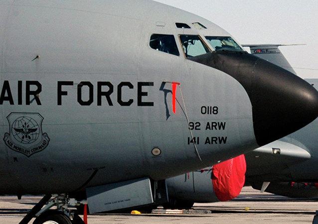 Los KC-135 Stratotanker de la Fuerza Aárea de EEUU (archivo)