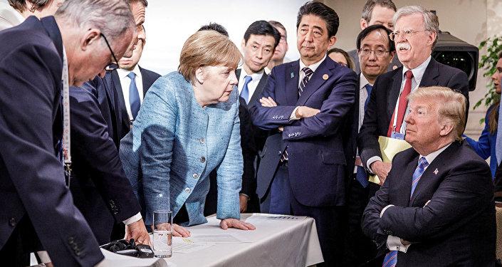 Trump retiró el apoyo de EEUU a la declaración del G7